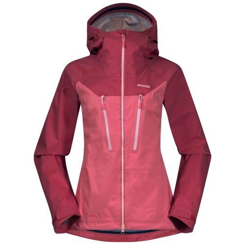 Bergans Cecilie 3L Jacket Women's Creamy Rouge/Dark Creamy Rouge L