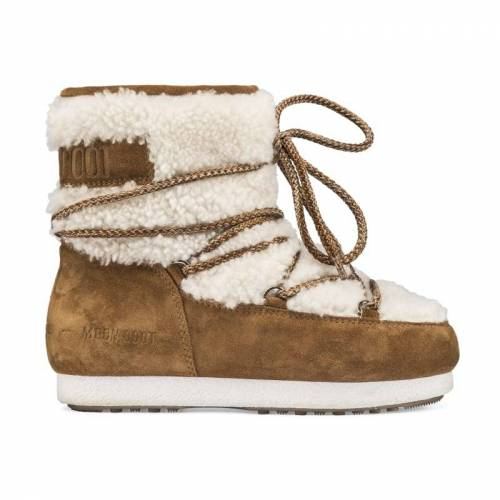 Moon Boot Women's Far Side Low Shearling