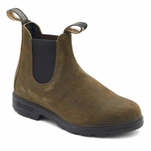 Blundstone Suede Boots Olive 38