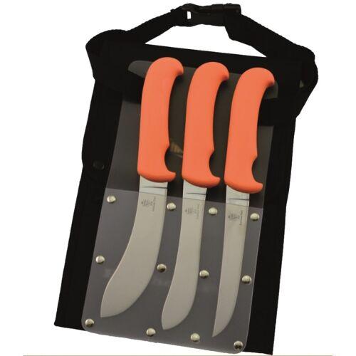Grey Oak Butcher Set