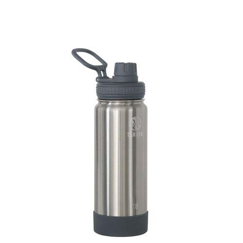 Takeya Actives Insulated Water Bottle 530 ml Steel 18OZ