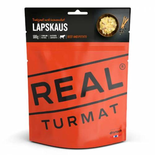 Real Turmat Beef And Potato Stew 500g