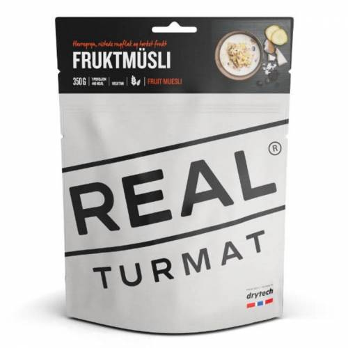 Real Turmat Fruit Muesli 350 Gr