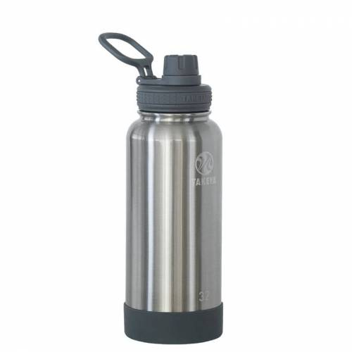 Takeya Actives Insulated Water Bottle 950 ml Steel 950ml