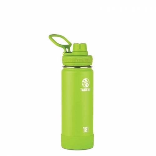 Takeya Actives Insulated Water Bottle 530 ml Lime 530ml
