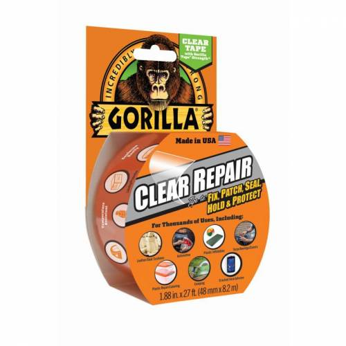 Gorilla Clear Repair Tape Clear OneSize