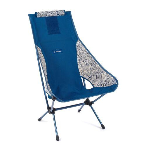 Helinox Chair Two Blue Paisley Blue Paisley