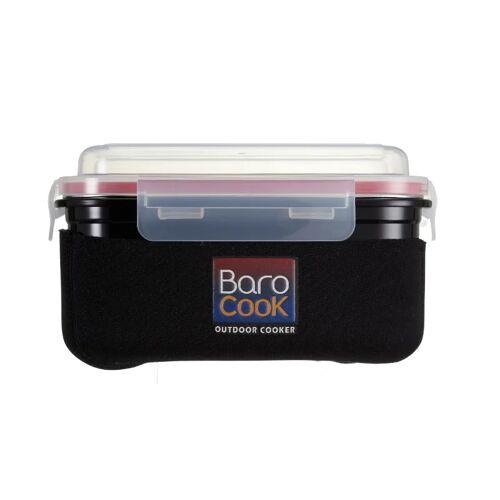 Barocook Lunchbox 850 ml Steel/Black OneSize