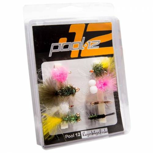 Pool 12 Flies for Rainbow Trout Fishing