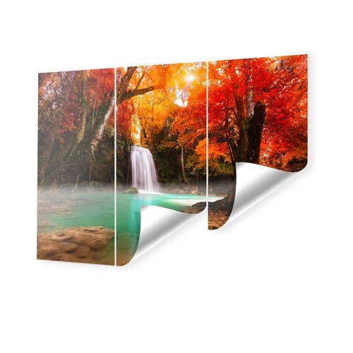 myposter Wasserfall Landschaft Fototapete im Format 270 x 202,5 cm