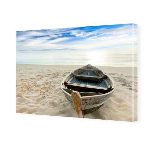 myposter Strandbild Foto auf Leinwand im Format 80 x 60 cm