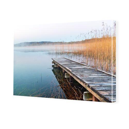 myposter See Bild Bilder auf Leinwand im Format 120 x 80 cm