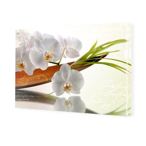 myposter Bild Orchideen Foto auf Leinwand im Format 80 x 60 cm