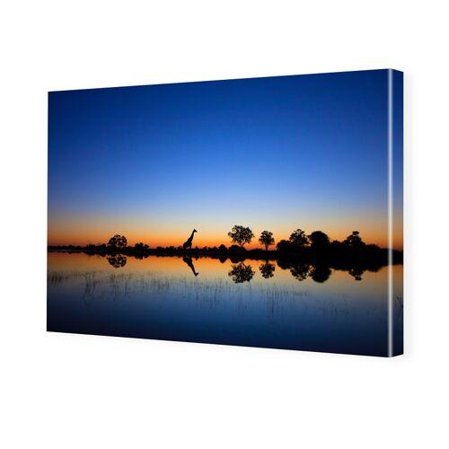 myposter Afrika Bild Fotoleinwand im Format 90 x 60 cm