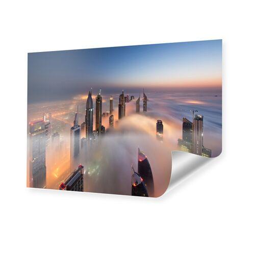 myposter Dubai Skyline Poster im Format 80 x 60 cm