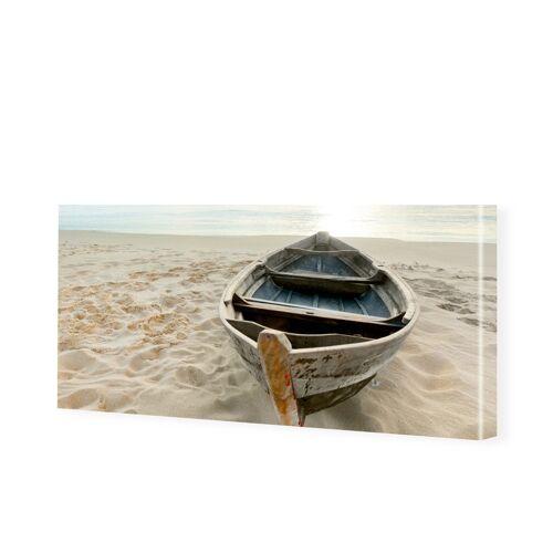 myposter Strandbild Leinwandbild als Panorama im Format 120 x 60 cm