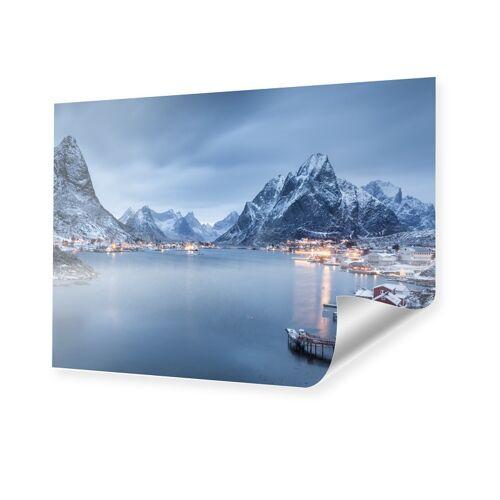 myposter Norwegen Bild Poster im Format 90 x 60 cm