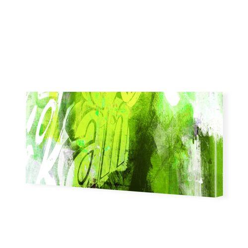 myposter Bilder Leinwand Abstrakt Leinwanddruck als Panorama im Format 150 x 50 cm