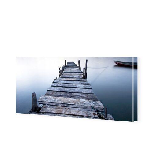 myposter Steg Bild Panorama Leinwand als Panorama im Format 150 x 60 cm