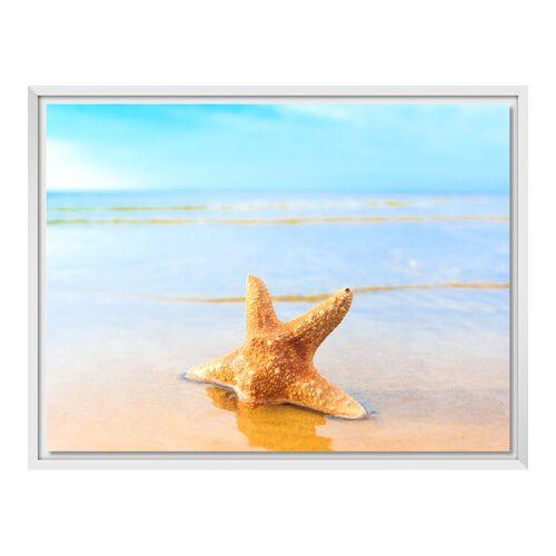 myposter Foto auf Leinwand im Schattenfugen Rahmen für Fotos auf Leinwand in weiß im Format 20 x 15 cm