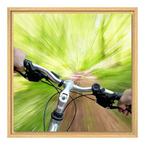 myposter Foto auf Leinwand im Schattenfugen Rahmen Natur für Fotos auf Leinwand im Format 28 x 21 cm