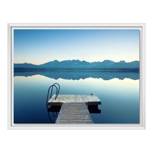 myposter Foto auf Forex im Schattenfugen Rahmen in weiß im Format 45 x 30 cm