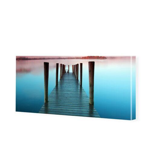 myposter See Bilder Leinwandbild als Panorama im Format 180 x 90 cm