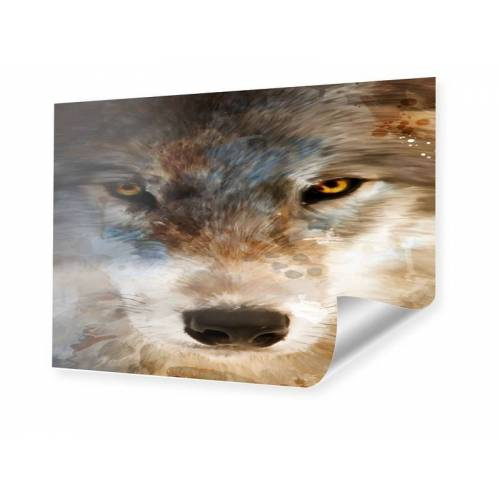 myposter abstract wolf Poster im Format 90 x 60 cm
