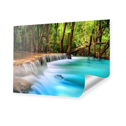 myposter Flussbett Bild Poster im Format 90 x 60 cm