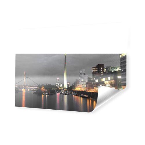 myposter Duesseldorfer Skyline Poster Foto auf PVC als Panorama im Format 240 x 120 cm
