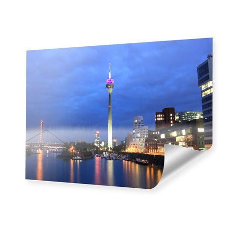 myposter Duesseldorfer Skyline Poster Poster im Format 70 x 50 cm