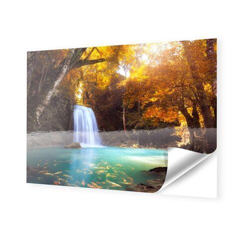myposter Wasserfall Bild Klebefolie im Format 144 x 81 cm