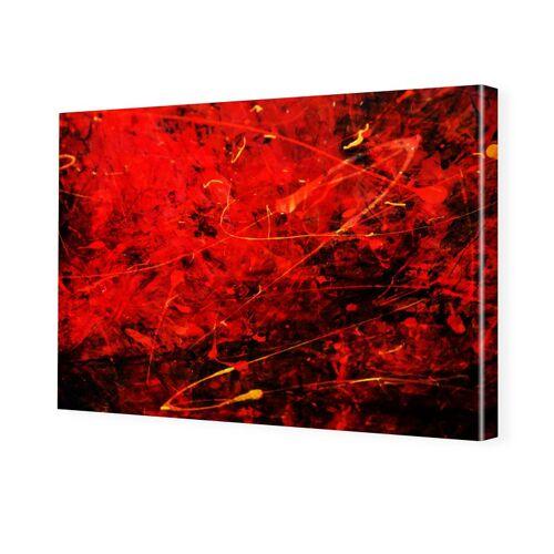 myposter abstrakt Druck Foto auf Leinwand im Format 80 x 60 cm