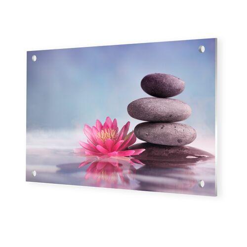 myposter Wellness Bild Foto auf Forex im Format 120 x 80 cm