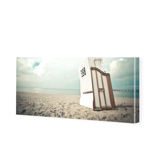myposter Ostsee Bilder Leinwand Bild als Panorama im Format 80 x 40 cm