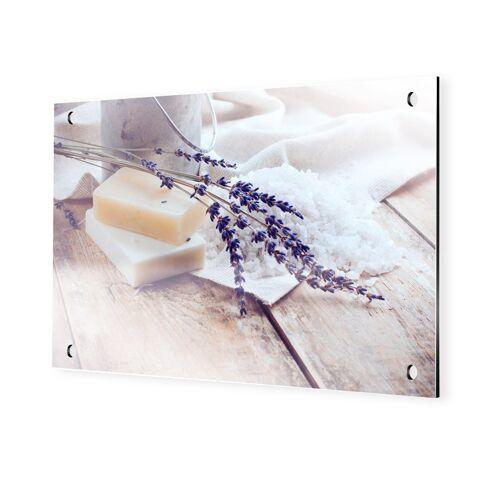 myposter Bild Lavendel Alu Dibond im Format 90 x 60 cm
