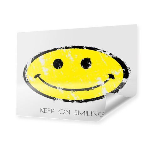 myposter Smiley Bild Poster im Format 70 x 50 cm