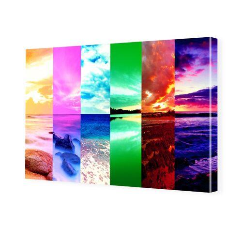 myposter Natur Collage Bilder auf Leinwand im Format 120 x 80 cm