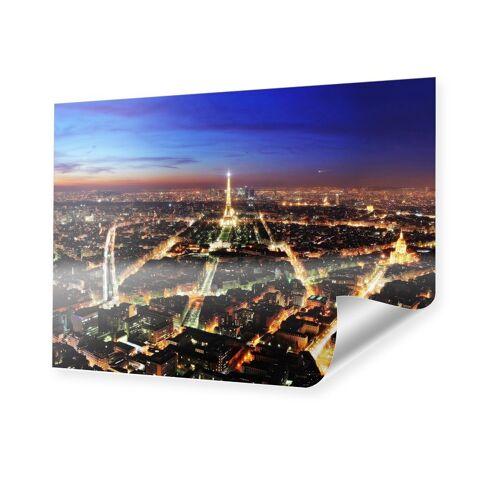 myposter Paris bei Nacht XXL Poster im Format 120 x 90 cm