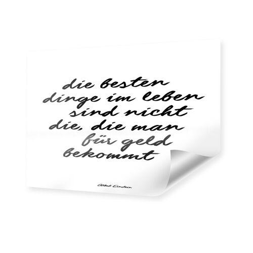 myposter Einstein Zitat Poster im Format 45 x 30 cm