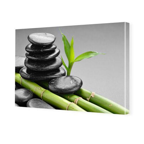 myposter Bambus Design Fotoleinwand im Format 60 x 40 cm
