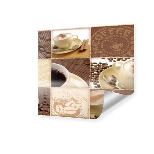 myposter Bilder kaffee und kuchen Poster quadratisch im Format 30 x 30 cm