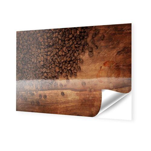 myposter Kaffeebohnen Bilder Klebefolie im Format 64 x 36 cm