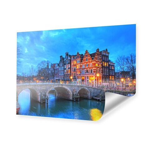 myposter Amsterdam Bild Poster im Format 90 x 60 cm