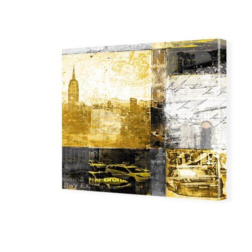 myposter New York Leinwand Fotos auf Leinwand quadratisch im Format 80 x 80 cm