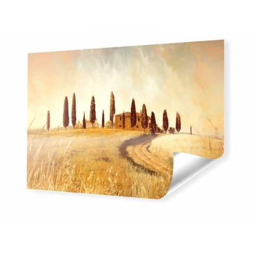 myposter Toskana Bild Foto auf PVC im Format 500 x 140 cm