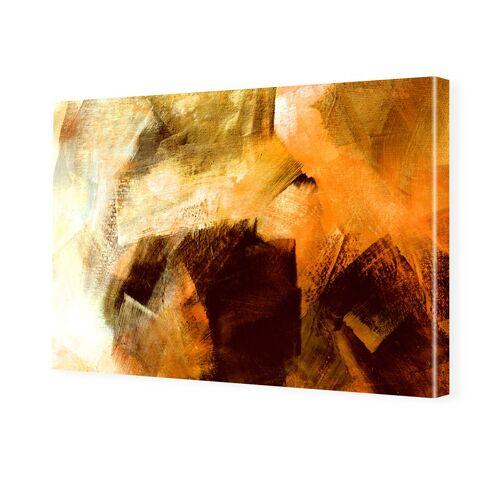 myposter Bild Abstrakt Leinwand Leinwanddruck im Format 80 x 45 cm