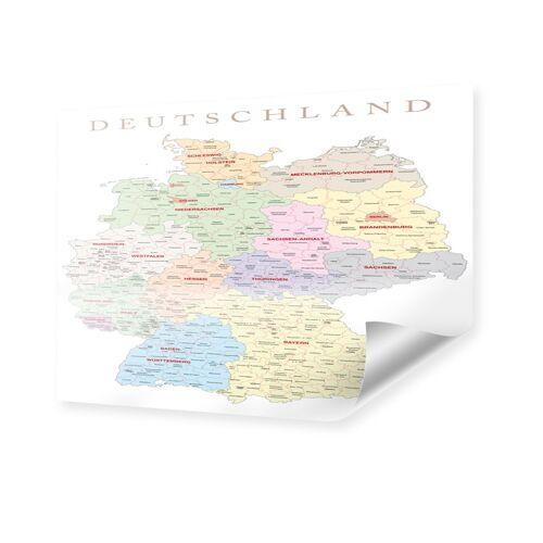 myposter Deutschlandkarte XXL Poster im Format 180 x 135 cm