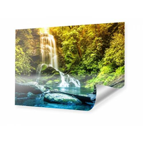 myposter Wasserfall Motiv Poster im Format 90 x 60 cm