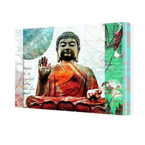 myposter Bild Buddha Foto auf Leinwand im Format 80 x 60 cm